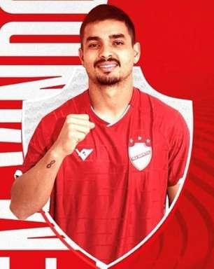 Renan Mota assina com o Vila Nova-GO e espera grande segundo semestre no clube goiano