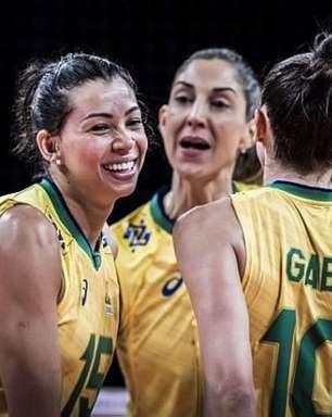 Seleção feminina de vôlei abre terceira semana da Liga das Nações contra a Sérvia
