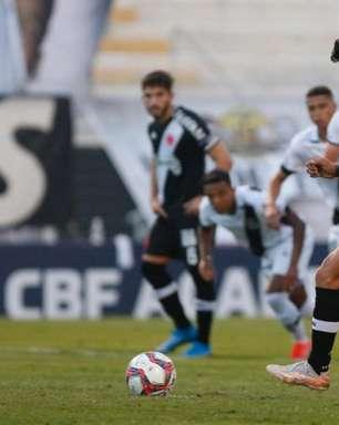 Oscilante, Vasco fica no empate com a Ponte Preta na Série B