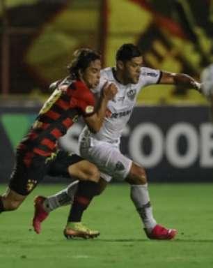 Veja o gol de Hulk que deu a vitória ao Galo sobre o Sport-PE