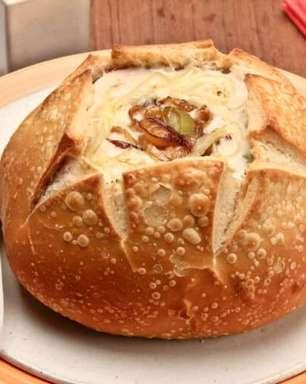 Receitas com pão italiano para um jantar a dois