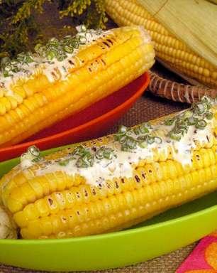 Espiga de milho assada: opção deliciosa para o seu arraial junino