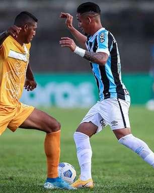Grêmio empata com o Brasiliense e avança na Copa do Brasil