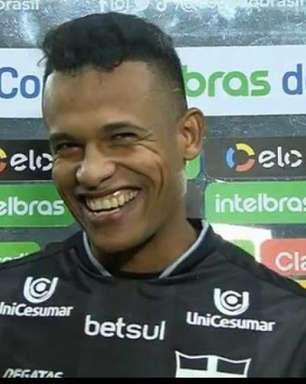 Carrasco do Palmeiras, goleiro Diogo Silva já adianta que irá cutucar familiares palmeirenses: 'Aguardem'