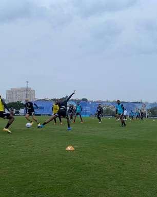 Corinthians se reapresenta e inicia preparação para o Dérbi de sábado