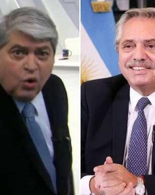 """Datena detona presidente da Argentina: """"Vai à me$#@"""""""