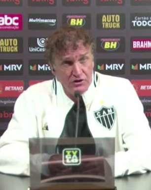 ATLÉTICO-MG: Cuca elogia partida de Réver e prevê mais partidas do zagueiro como titular