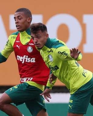 Escalação do Palmeiras: Menino e Kuscevic treinam e podem reforçar Verdão no Dérbi