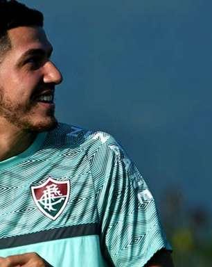 Nino se reapresenta ao Fluminense após Seleção e fica à disposição para jogo com o Red Bull Bragantino