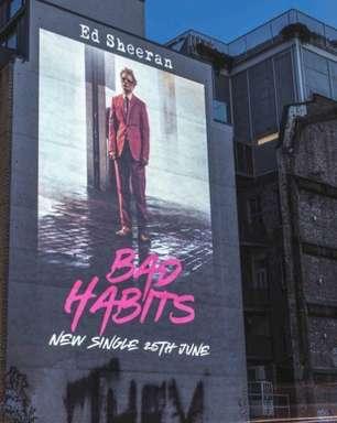 "Ed Sheeran anuncia novo single ""Bad Habits"" para junho"
