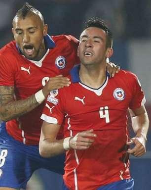 Com Isla e Vidal, seleção do Chile treinará no CT do Flamengo durante a Copa América