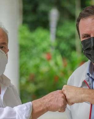 Lula almoça com Paes e defende 'pacto' contra bolsonarismo