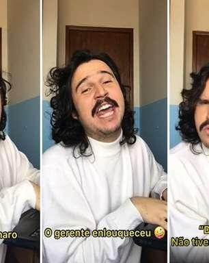 """Comediante finge ser a """"Pifaizer"""" em e-mails a Bolsonaro"""