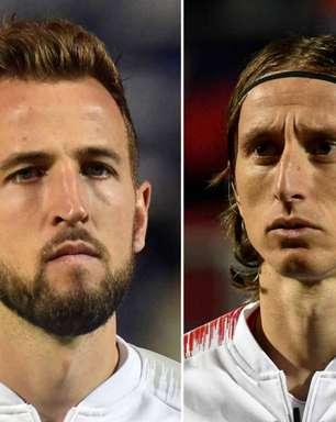 Inglaterra x Croácia: saiba onde assistir e prováveis escalações