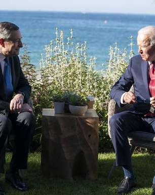 Premiê da Itália diz que está 'em sintonia total' com Biden