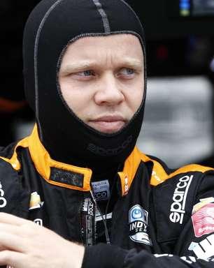 """Após acidente, Rosenqvist é transferido para hospital, mas segue """"alerta e consciente"""""""