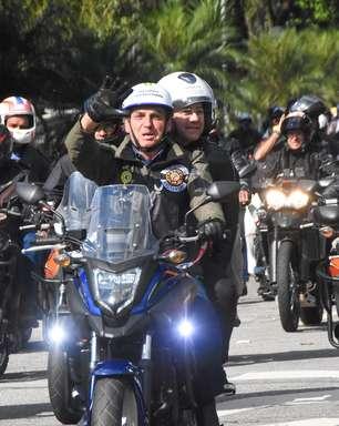 'Motociata' de Bolsonaro custou R$ 1,2 milhão ao governo