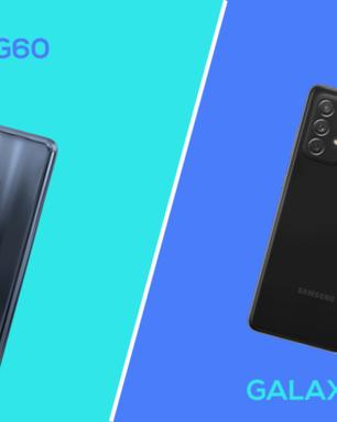 Comparativo: Moto G60 ou Galaxy A72; qual é o melhor?