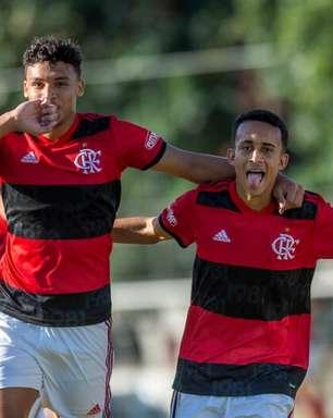 Brasileirão Sub-17: Flamengo goleia o América-MG na Gávea e encaminha classificação às quartas de final
