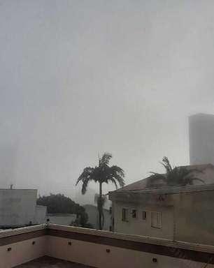 Sábado amanhece com névoa e nevoeiro em muitas áreas do Brasil