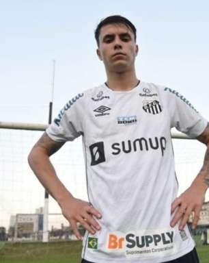 Zanocelo recebe conselhos e espera seguir passos de Elano no Santos
