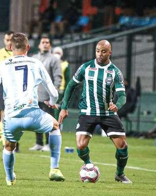 Coritiba sai na frente, mas leva empate do Londrina pela Série B