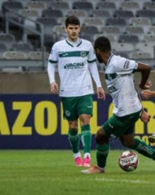Veja os gols do empate entre Cruzeiro e Goiás pela Série B
