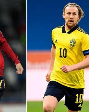 Espanha x Suécia: saiba onde assistir e as prováveis escalações da partida