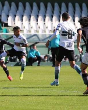 Coritiba e Botafogo empatam no primeiro jogo da final da Copa do Brasil sub-20