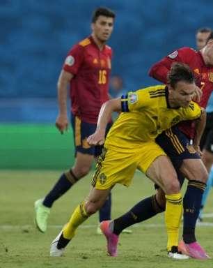 Suécia segura pressão e empata sem gols com a Espanha na Eurocopa