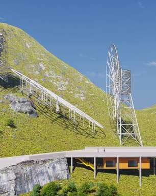 Radiotelescópio construído no Brasil vai investigar a evolução do Universo