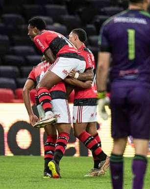 Flamengo emplaca cinco jogadores na seleção da 3ª rodada do Brasileiro; Vitinho é o 'cara'
