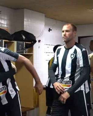 Carli e Ricardinho incentivam o grupo em vitória sobre o Remo; veja os bastidores do triunfo do Botafogo