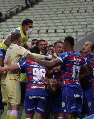 Quatro jogadores marcaram gols pelo Fortaleza no Brasileirão