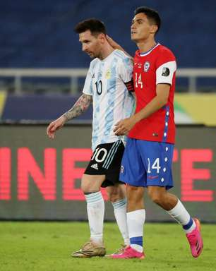 Messi faz golaço, mas Argentina leva empate do Chile no Rio