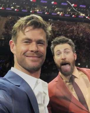Chris Evans completa 40 anos e é zoado por Chris Hemsworth
