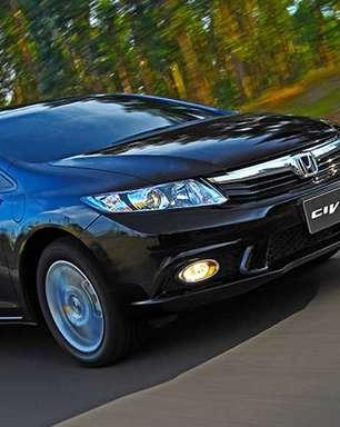 Honda Civic lidera ranking dos carros usados mais buscados na internet