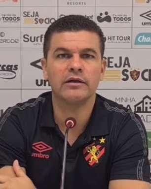SPORT: Louzer lamenta expulsão e analisa o quanto foi prejudicial na derrota para o Fortaleza