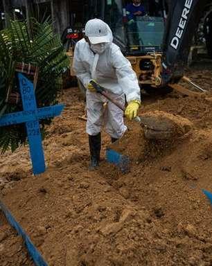 Brasil registra 87 mil novos casos de covid-19