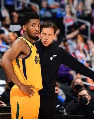 """Quin Snyder: """"Jazz não jogou com inteligência contra o Clippers"""""""