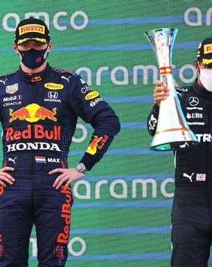 """Amizade de Hamilton e Verstappen vai acabar, vê Gabriel Curty: """"Não vão beber juntos"""""""