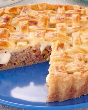 Torta folhada: 5 receitas prontas em menos de 1 hora