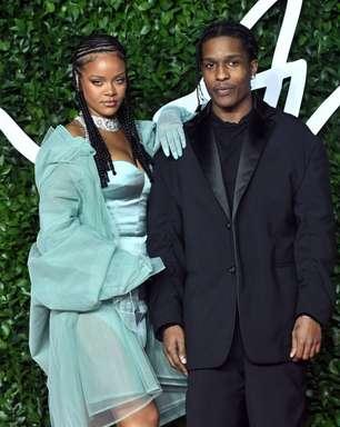 """A$AP Rocky se diz """"abençoado"""" de ter Rihanna em sua vida"""
