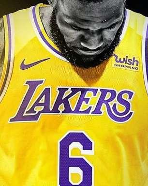 Lakers anunciam que LeBron James vai usar o número 6 a partir da próxima temporada