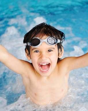 Prática da natação na impulsiona o desenvolvimento