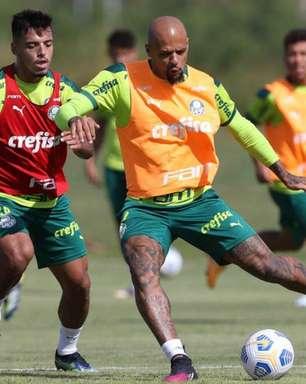 Depois de imunização contra Covid-19, Palmeiras treina no Paraguai para pegar o Juventude