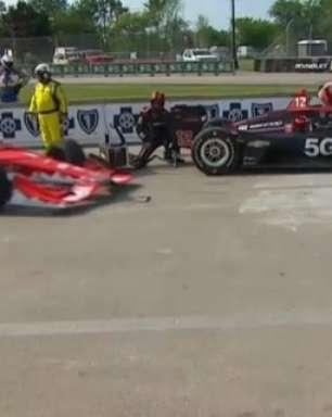 Penske diz que problema na unidade de potência desligou carro de Power em Detroit