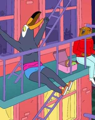 Tuca & Bertie repete história de BoJack Horseman em segunda temporada