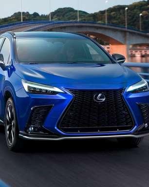 Novo Lexus NX é o primeiro híbrido plug-in da marca