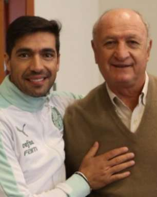 Palmeiras promove encontro entre Abel Ferreira e Felipão, campeões continentais pelo clube
